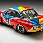 BMW ART CAR w Warszawie, czyli auta jak dzieła sztuki