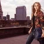 """Sophie Turner gwiazda serialu """"Gra o Tron"""" została modelką w kampanii Karen Millen"""