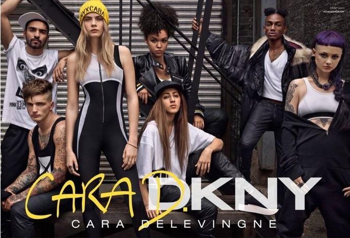 Nowa kolekcja DKNY zaprojektowana przez Carę Delevingne