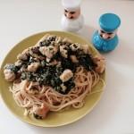 Spaghetti  dla szpinakowych niejadków