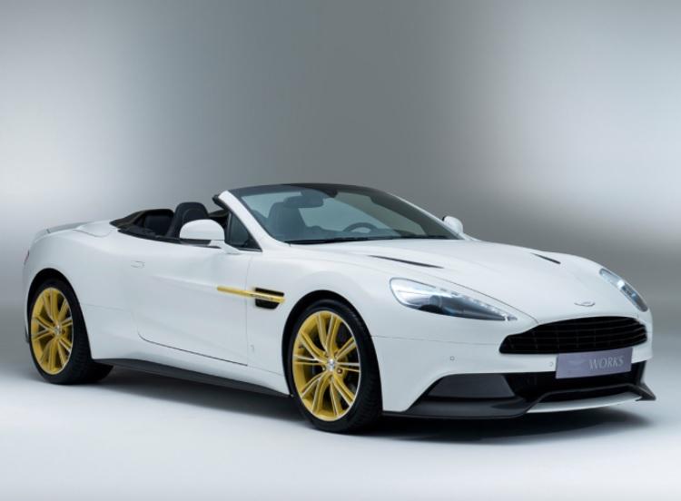 Limitowany Vanquish z okazji sześćdziesiątych urodzin Aston Martin Works