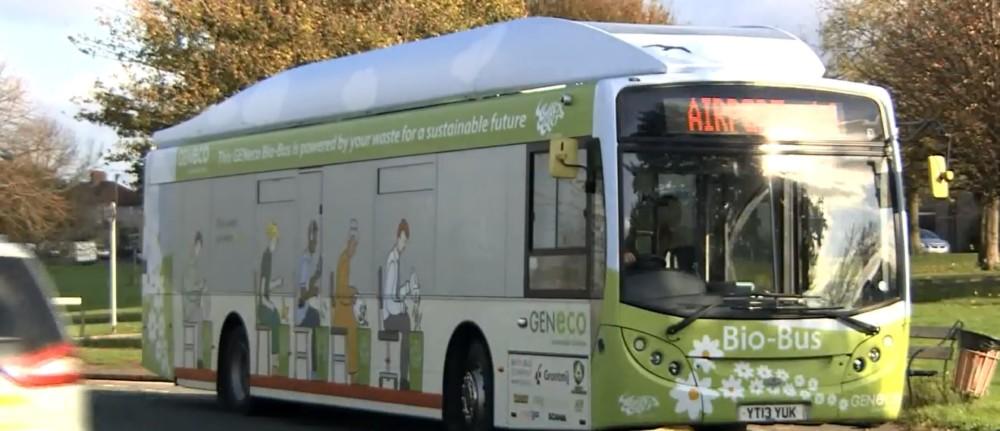 Pierwszy autobus na biometan wyjechał na ulice