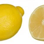Maseczka z cytryny