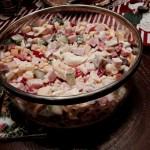 Stylowa sałatka na świąteczny stół