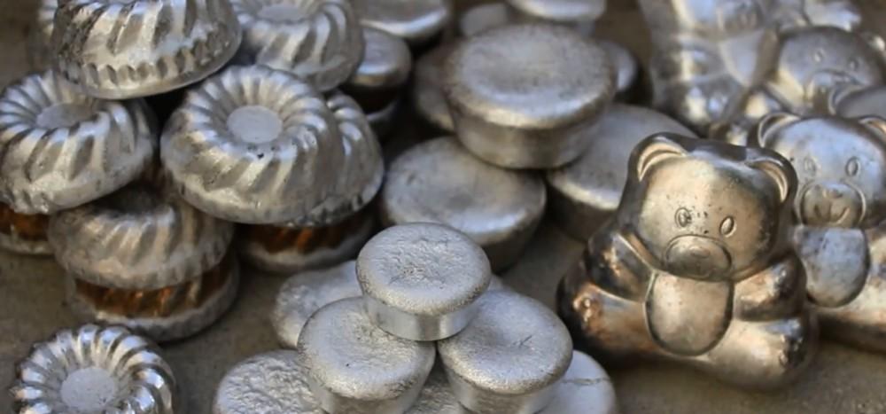 Aluminiowe gadżety wytapianie w domowym zaciszu