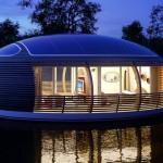 Dom solarny z recyclingu chroniący środowisko