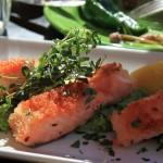 Zdrowy talerz. Przepis na łososia z cytryną