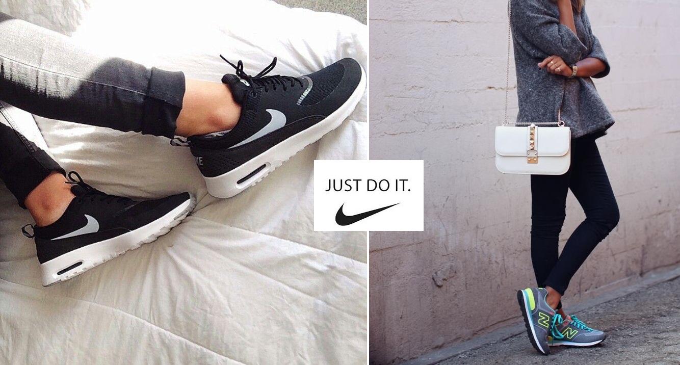 Sport jest na topie! 4 pary sportowego obuwia, które musisz mieć w swojej szafie!