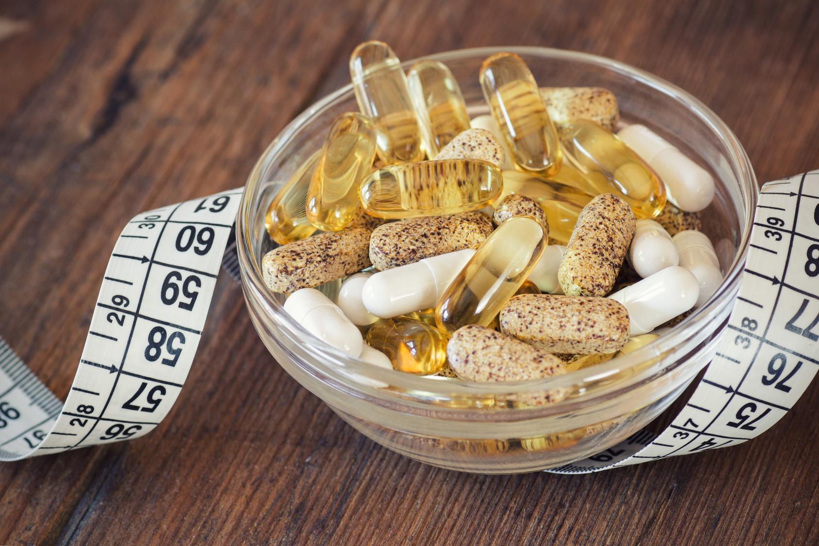 Odchudzanie  a witaminy, mikroelementy i zioła