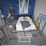 Odzyskaj miejsce w małej sypialni: 8 inspiracji na łóżka w wersji loft