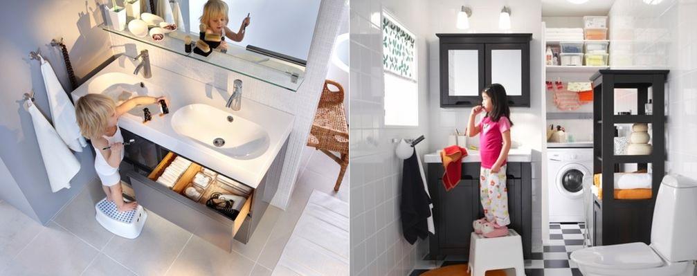 Łazienka bezpieczna dla dziecka