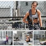 Crista Cober na sportowo dla  H&M.  Zobacz odsłonę  kolekcji H&M Sport na  jesień-zima 2015/2016