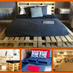 Domowy Recykling: 13 niezwykłych rzeczy, które zrobisz za pomocą drewnianych palet