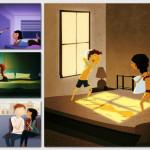 Every Day Love Art. Ilustracje, które pokazują, że najpiękniejsza miłość to ta, która przejawia się w codziennych sytuacjach