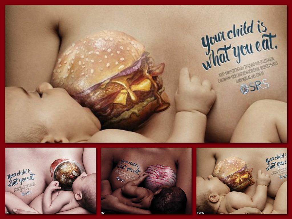 """""""Twoje dziecko jest tym, co jesz""""! Obok tej kampanii nie przejdziesz obojętnie"""