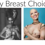 """""""My Breast Choice"""": seria zdjęć, która w nietypowy sposób symbolizuje każdy etap  walki z rakiem piersi. Mastektomia na tych fotografiach inspiruje …."""