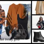 Najmodniejszy element jesiennej garderoby – poncho. Jak je nosić?