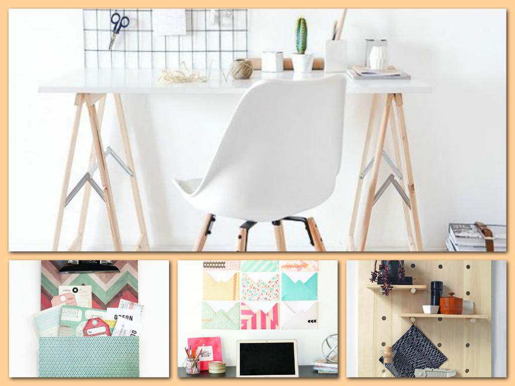 Pomocne  domowe DIY: 6 pomysłów na stworzenie organizacyjnej tablicy. Każdy wygląda świetnie