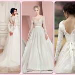 Suknie ślubne z długim rękawem to zawsze dobry wybór. Zachwycają i są stosowne do  ślubnej uroczystości