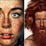Piegi – niezwykłe portrety w obiektywie  Brocka Elbanka