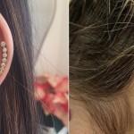 Boom na przekłute uszy powraca. Im więcej kolczyków w uchu tym lepiej