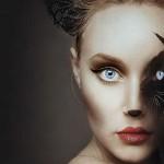 """Flora Borsi """"Animeyed"""" – wyjątkowe połączenie autoportretu z portretem zwierzęcia"""