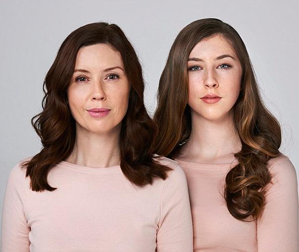 O sile genow. Spojrz na swoją mame, a przekonasz się jak bedziesz wygladala za 30 lat…