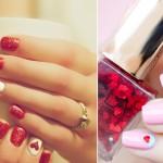 To właśnie miłość:  Najlepsze pomysły na walentynkowy manicure