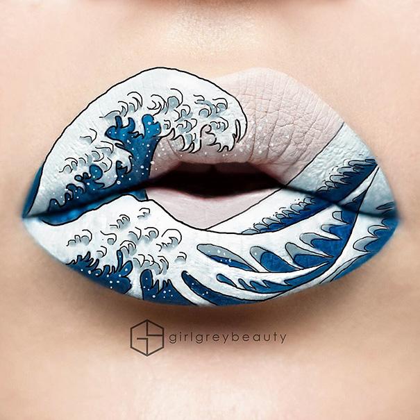 Makijazystka przemienia usta we wspaniale dziela sztuki 2