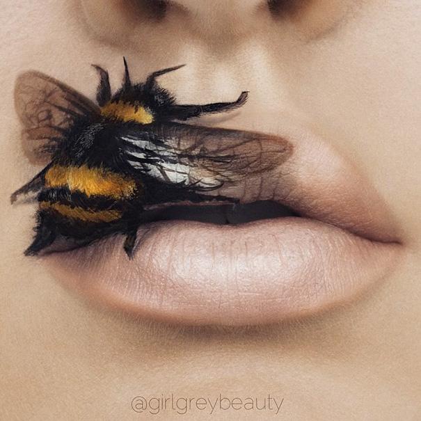 Makijazystka przemienia usta we wspaniale dziela sztuki 5
