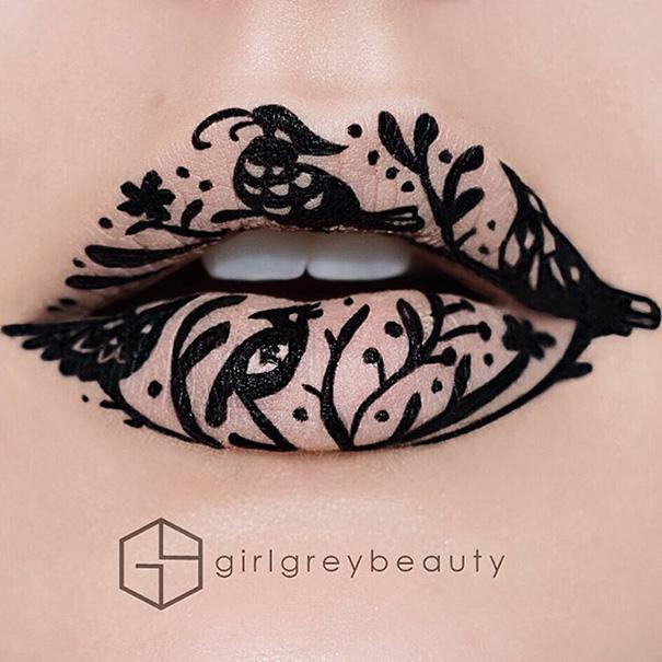 Makijazystka przemienia usta we wspaniale dziela sztuki 6