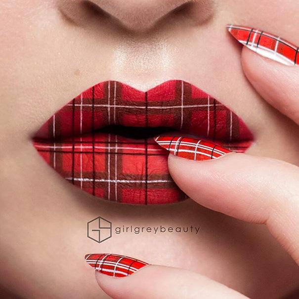 Makijazystka przemienia usta we wspaniale dziela sztuki 7