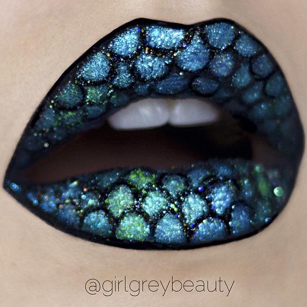 Makijazystka przemienia usta we wspaniale dziela sztuki 8