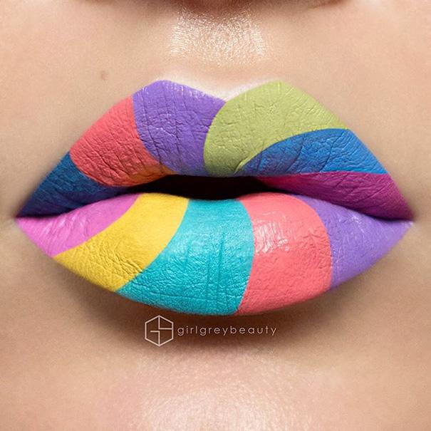 Makijazystka przemienia usta we wspaniale dziela sztuki 9