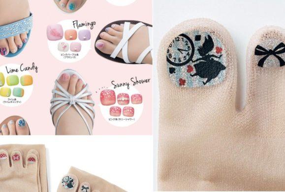 Rajstopy z pomalowanymi paznokciami – nowy wynalazek prosto z Japonii