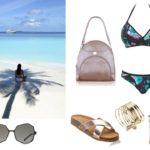 Plażowe stylizacje  (kolaże)