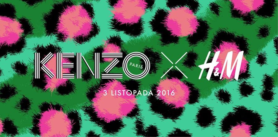 Kolekcja Kenzo x H&M w sklepach już 3 listopada