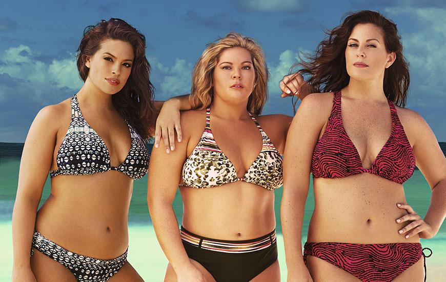 Nowa kampania z hasztagiem #MySwimBody. Modelki plus-size namawiają kobiety, by pokazywały swoje ciała w bikini