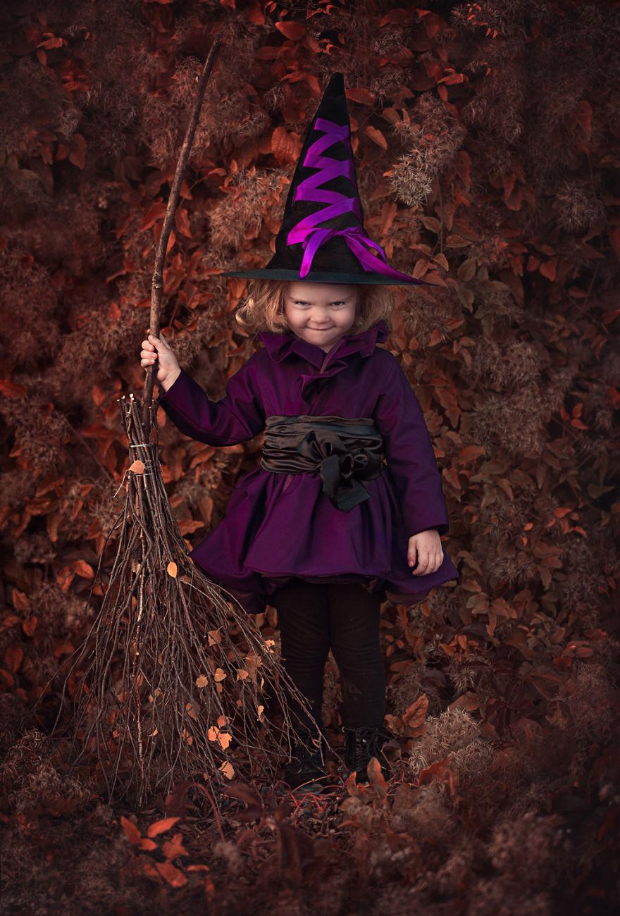 Polka swoim hobby zauroczyla cały swiat. Tworzy magiczne kostiumy dla swoich dzieci i fotografuje je w bajowej scenerii9