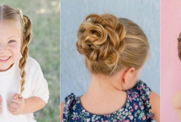 Pięciolatka tworzy UPIĘCIA, których nie powstydziłby się fryzjer  z wieloletnim stażem [wideo]