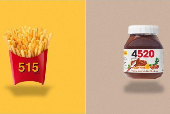 Zamiast logotypu marki liczba kalorii- zobacz jaką nazwę miałby Twój ulubiony przysmak