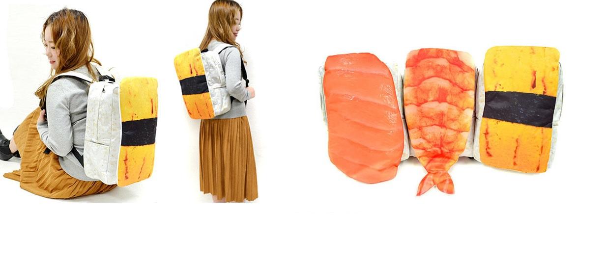 Plecaki z Japonii wyglądają jak gigantyczne Sushi!