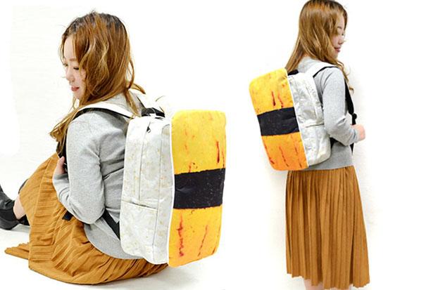 Plecaki z Japonii wyglądaja jak gigantyczne Sushi4