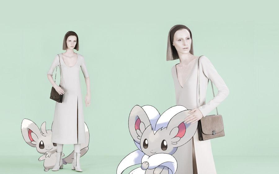 Pokemon Go w kampaniach znanych marek ze swiata mody19jpg