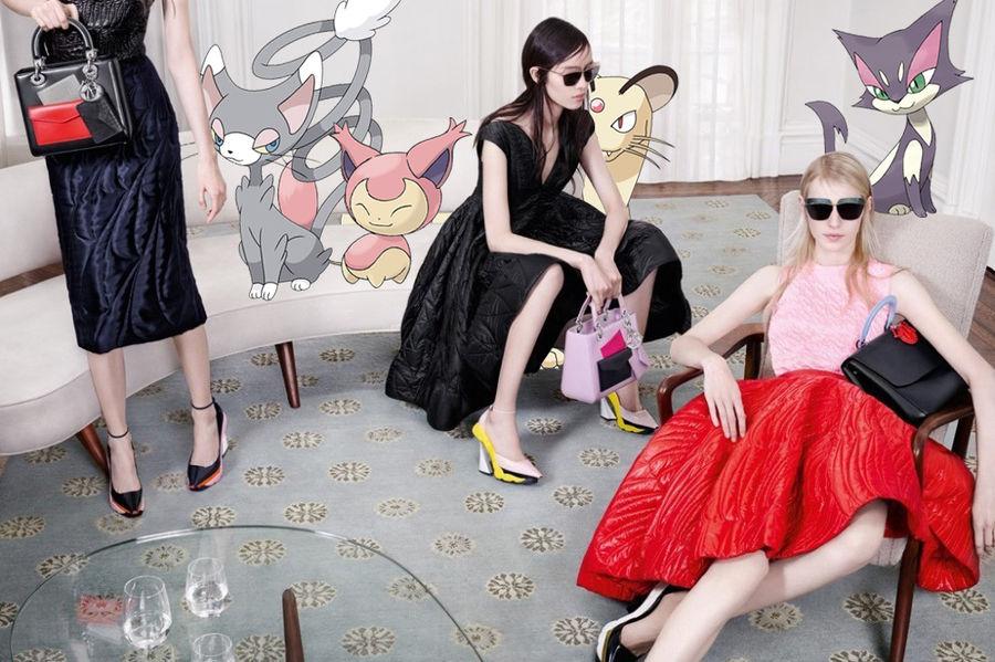 Pokemon Go w kampaniach znanych marek ze swiata mody20jpg