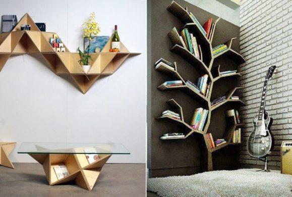 Odzyskaj komfort we własnym domu:  20 pomysłów na proste wykorzystanie drewnianych półek, dzięki którym  zyskasz nową przestrzeń
