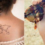 #TravelTattoo: tatuaże symbolizujące zamiłowanie do podróży (wzory)