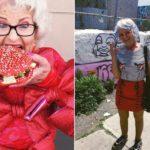 Mimo, że ma 88 lat żyje pełnią życia i nie przejmuje się opinią innych.  Poznajcie Baddie Winkle, my już ją  uwielbiamy!