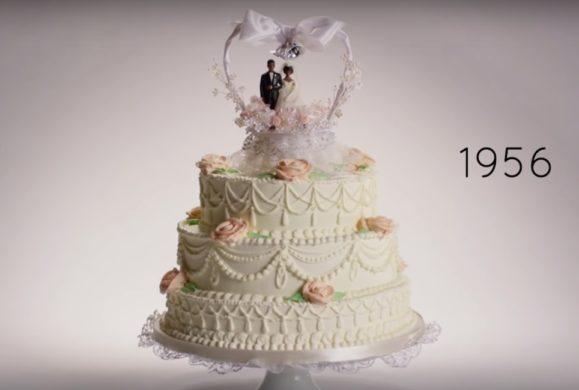 Modne torty weselne: historia w pigułce