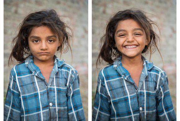 """""""So I Asked Them To Smile"""" – projekt, który pokazuje, że uśmiech zmienia nasze oblicze i to jak postrzegają nas inni"""